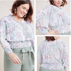 NWT Maeve by Anthro Rosa Blouse